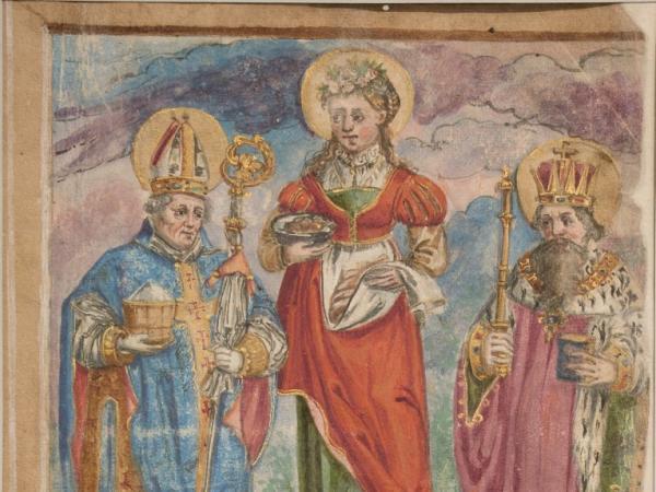 Raum 1: Die ältesten Dokumente und die Legende