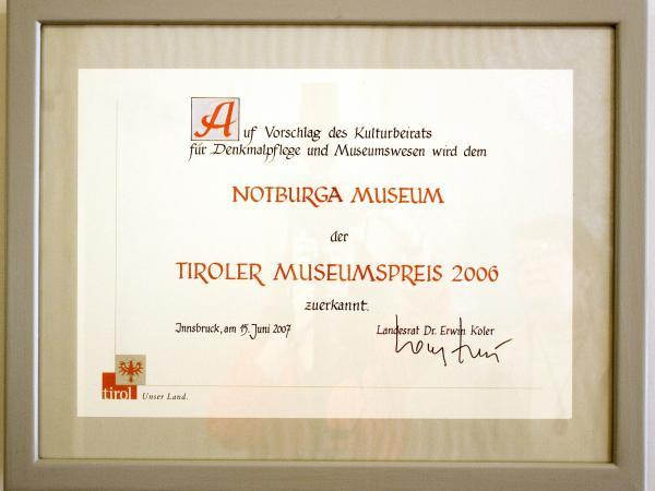 Tiroler Museumspreis 2006